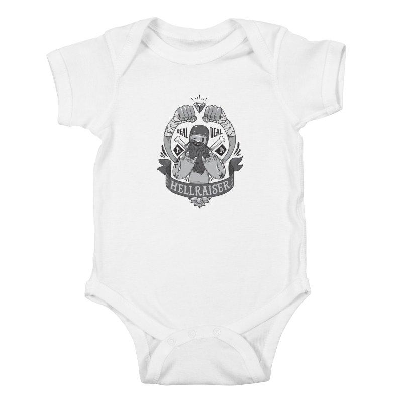 hellraiser Kids Baby Bodysuit by onepercenter's Artist Shop