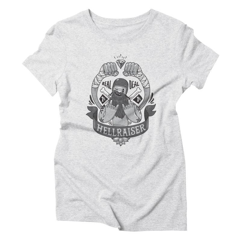 hellraiser Women's Triblend T-Shirt by onepercenter's Artist Shop