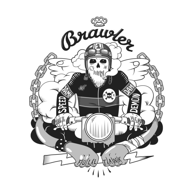 brawler Women's T-Shirt by onepercenter's Artist Shop