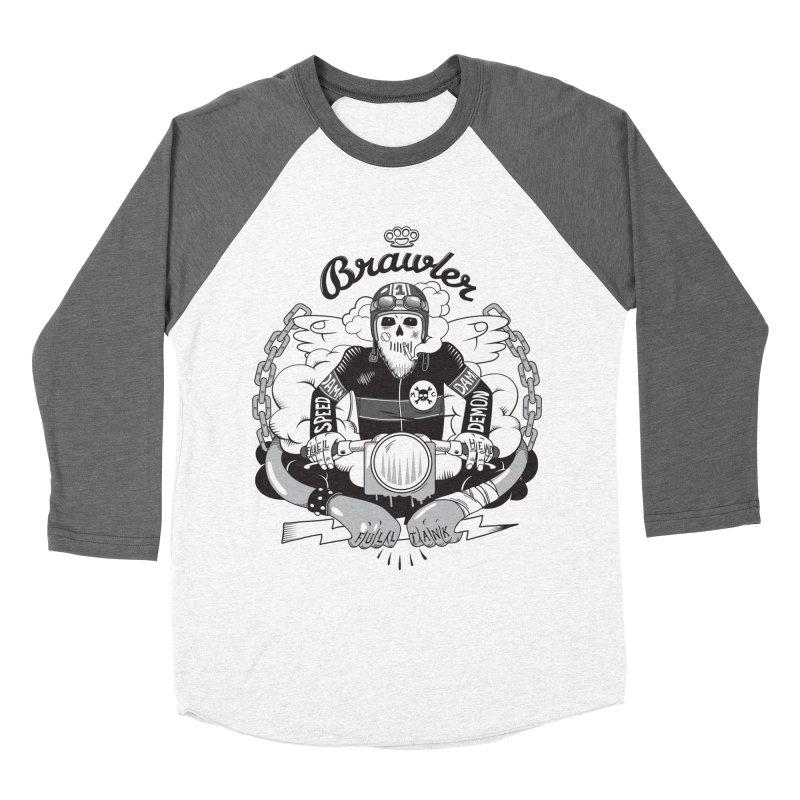 brawler Women's Longsleeve T-Shirt by onepercenter's Artist Shop