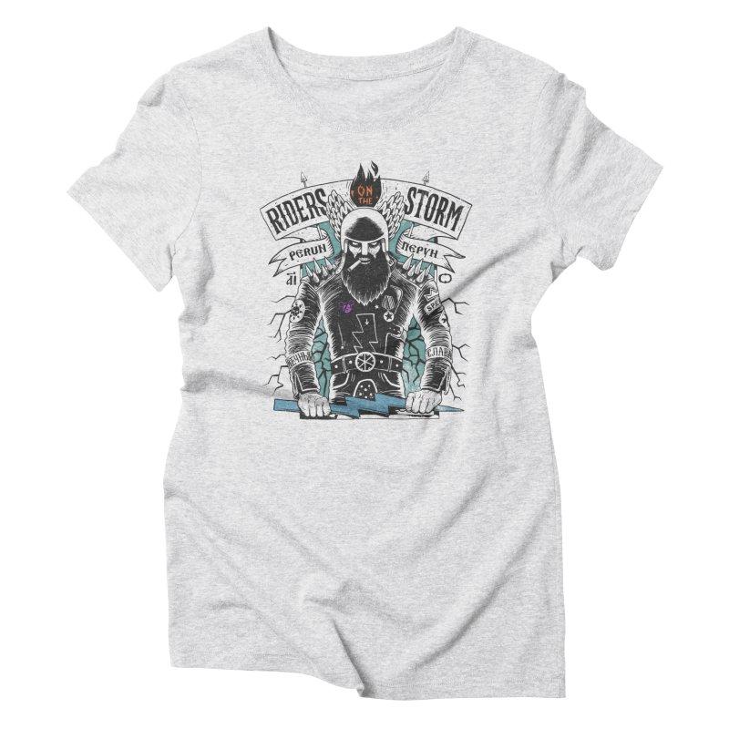 perun Women's Triblend T-Shirt by onepercenter's Artist Shop