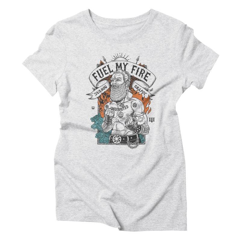 svarog Women's Triblend T-Shirt by onepercenter's Artist Shop