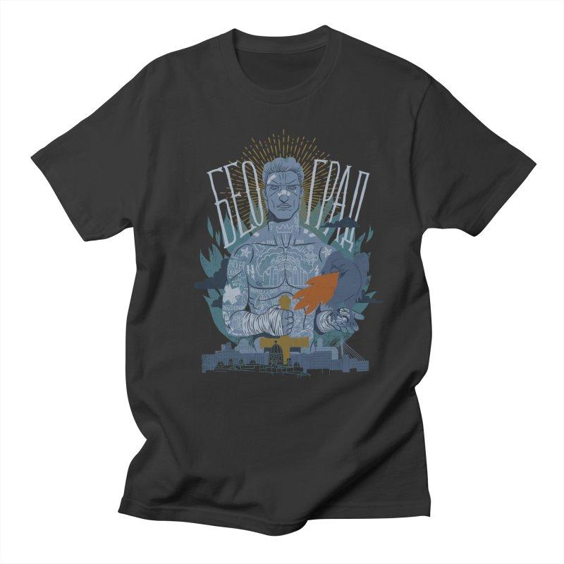 victor Men's Regular T-Shirt by onepercenter's Artist Shop