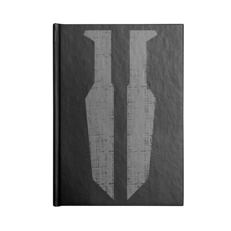 Blades in the Dark Logo (Gray) GEAR Notebook by One Seven Design
