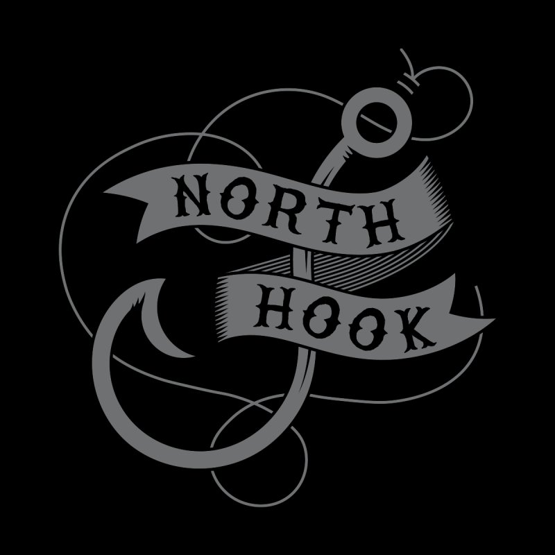 North Hook GEAR Greeting Card by One Seven Design