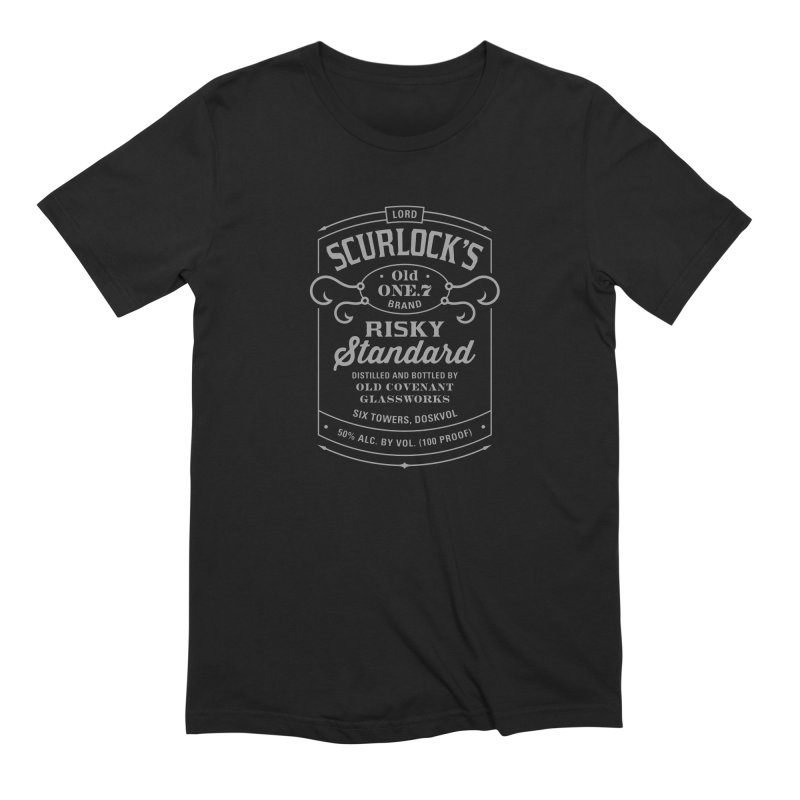 The Risky Standard Men's T-Shirt by One Seven Design