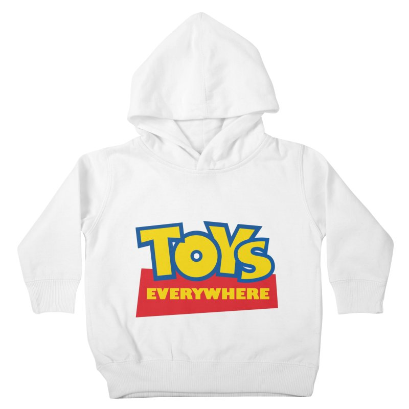 TOYS EVERYWHERE Kids Toddler Pullover Hoody by Happy Thursdays - A Onesie Project by Ceylan S. Ek