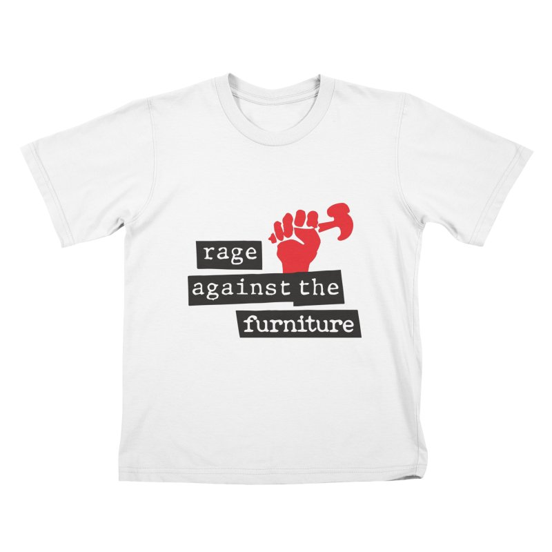 rage against the furniture Kids T-Shirt by Happy Thursdays - A Onesie Project by Ceylan S. Ek