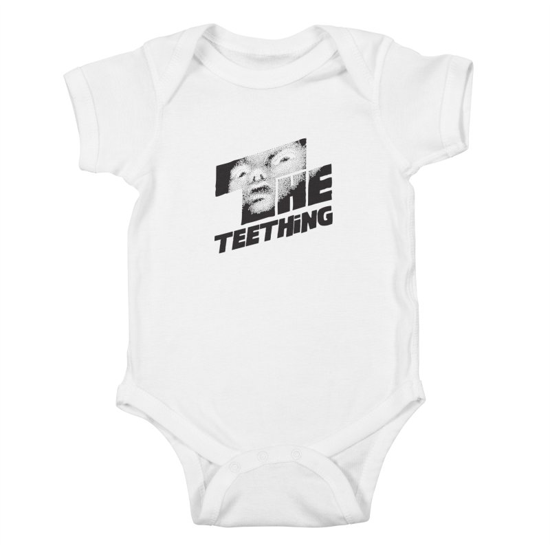 The Teething Kids Baby Bodysuit by Happy Thursdays - A Onesie Project by Ceylan S. Ek
