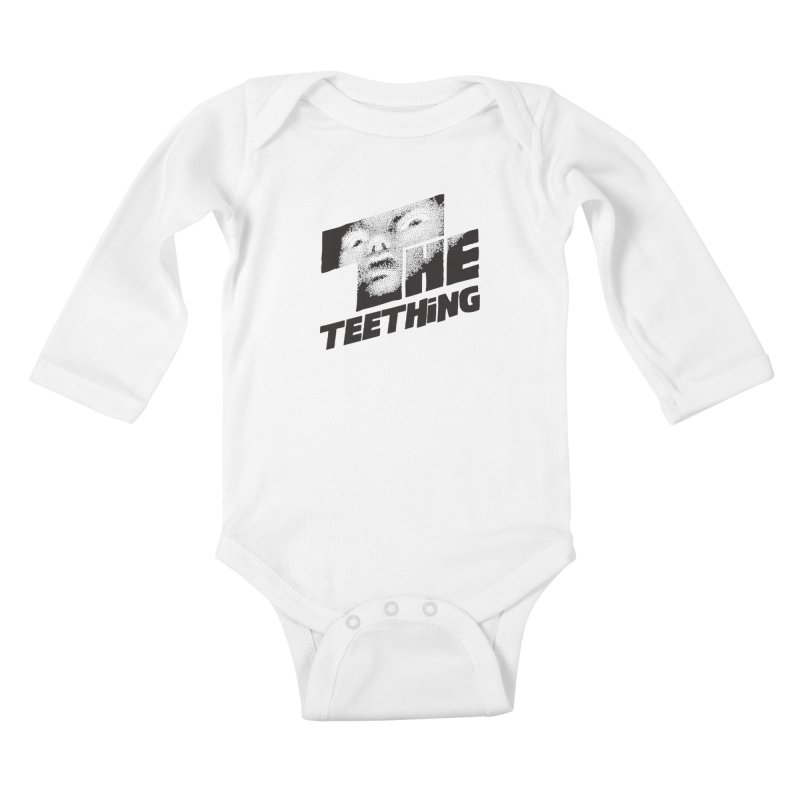 The Teething Kids Baby Longsleeve Bodysuit by Happy Thursdays - A Onesie Project by Ceylan S. Ek