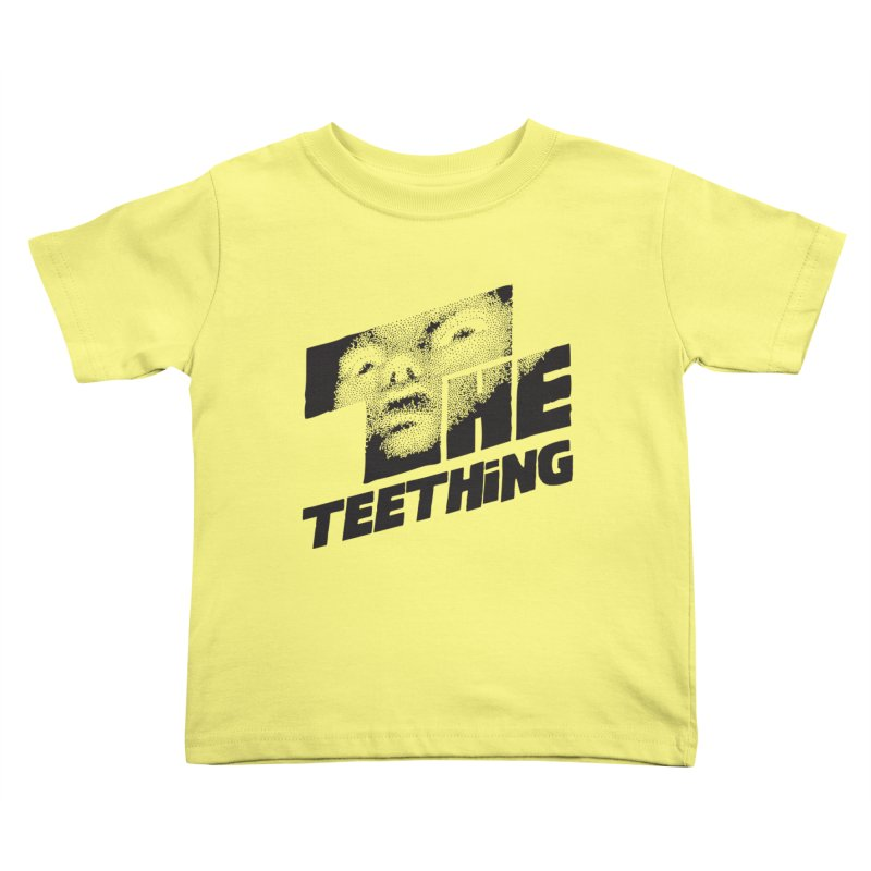The Teething Kids Toddler T-Shirt by Happy Thursdays - A Onesie Project by Ceylan S. Ek