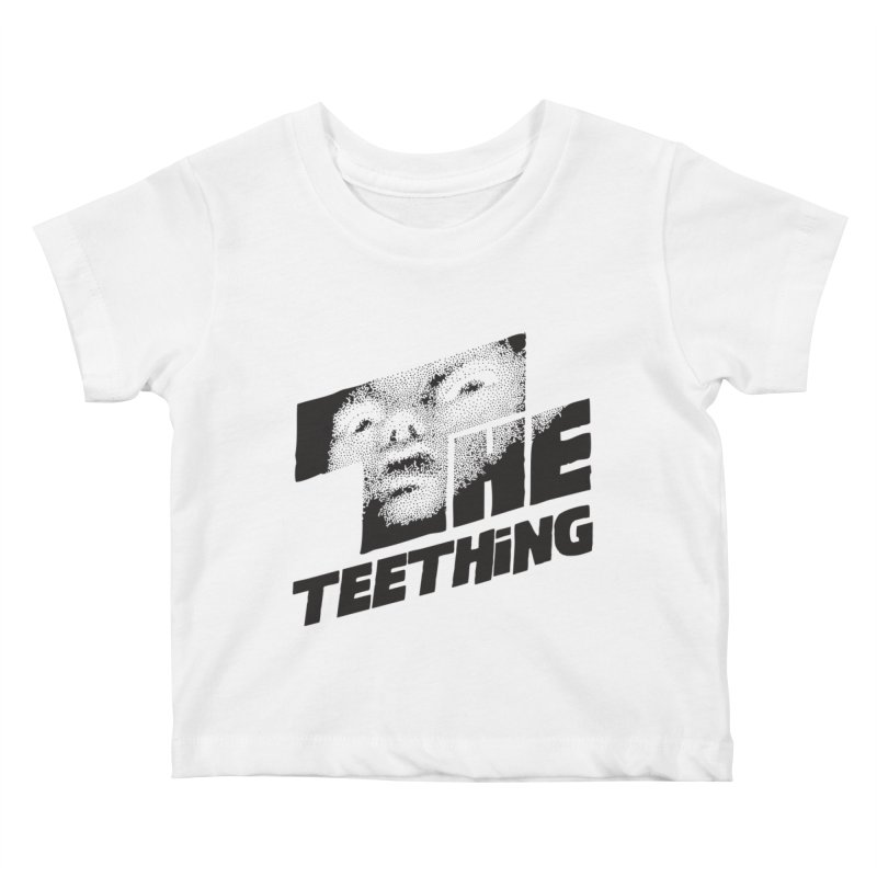 The Teething Kids Baby T-Shirt by Happy Thursdays - A Onesie Project by Ceylan S. Ek