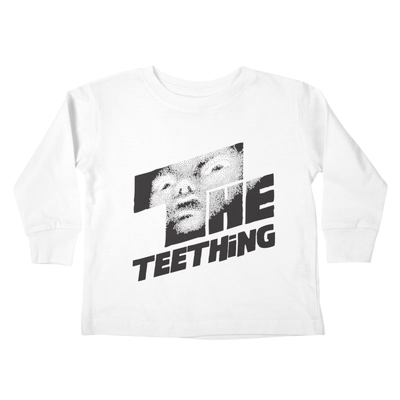 The Teething Kids Toddler Longsleeve T-Shirt by Happy Thursdays - A Onesie Project by Ceylan S. Ek