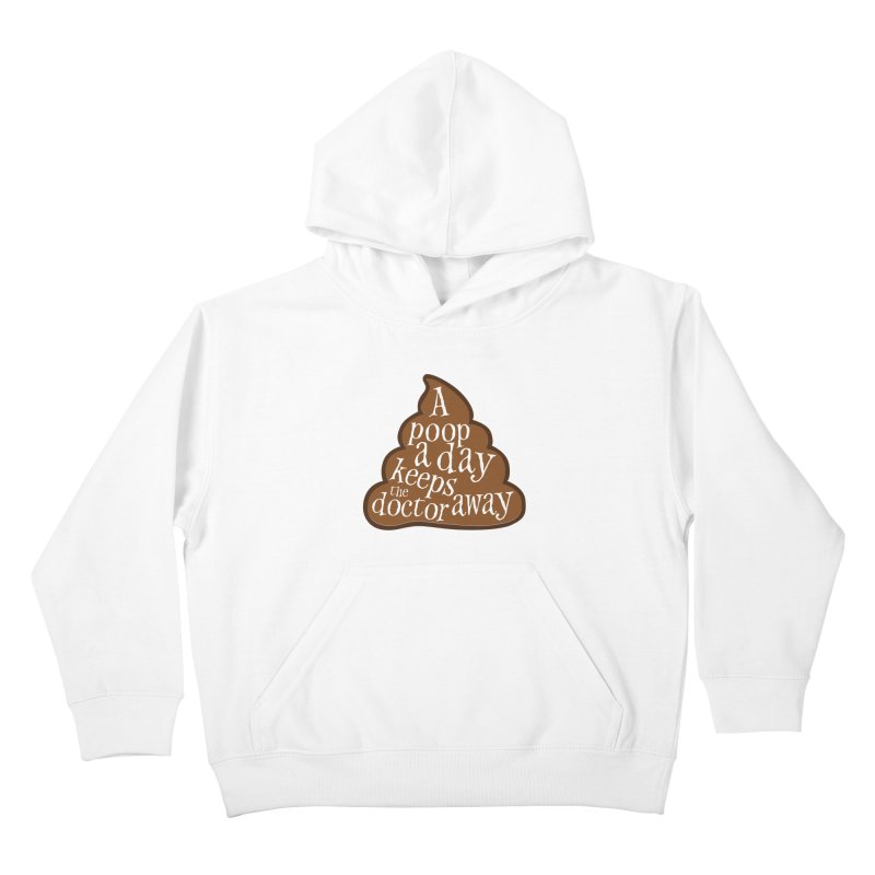 A poop a day... Kids Pullover Hoody by Happy Thursdays - A Onesie Project by Ceylan S. Ek