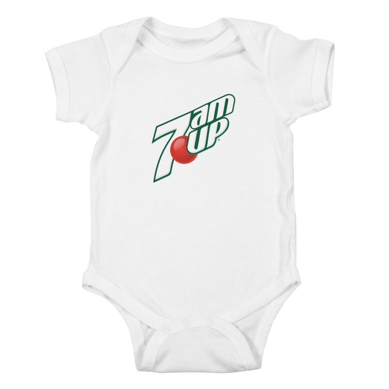 7amUP Kids Baby Bodysuit by Happy Thursdays - A Onesie Project by Ceylan S. Ek