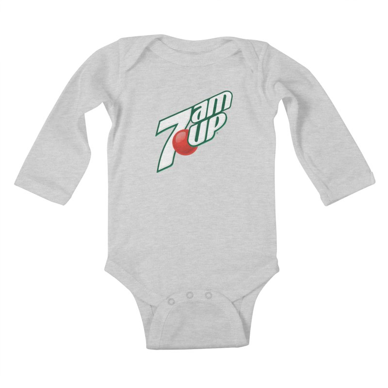 7amUP Kids Baby Longsleeve Bodysuit by Happy Thursdays - A Onesie Project by Ceylan S. Ek