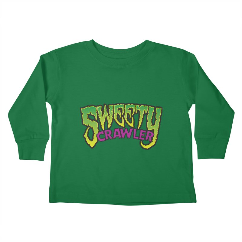 Sweety Crawler Kids Toddler Longsleeve T-Shirt by Happy Thursdays - A Onesie Project by Ceylan S. Ek