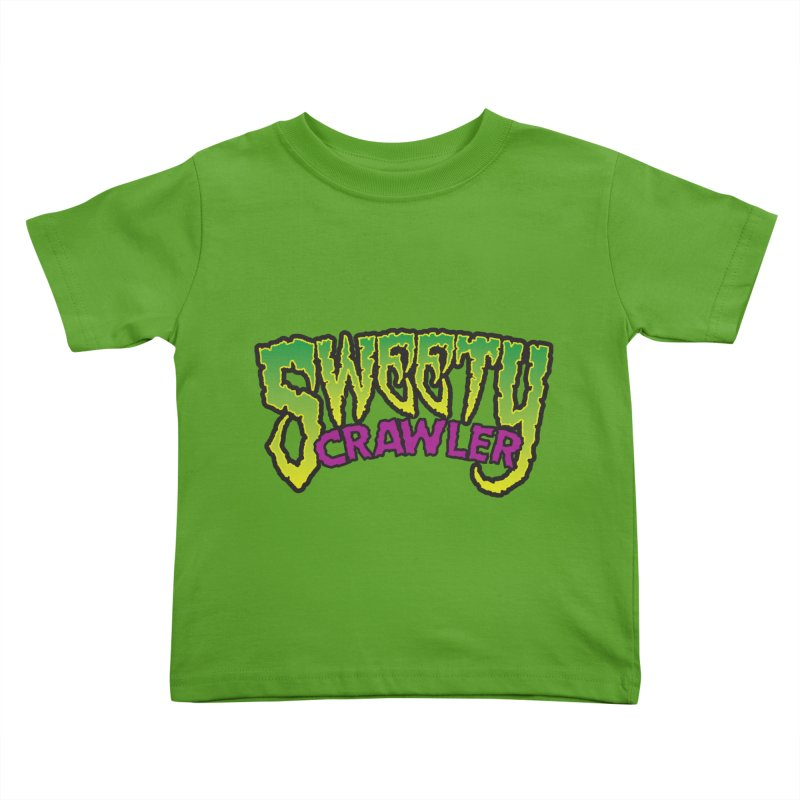 Sweety Crawler Kids Toddler T-Shirt by Happy Thursdays - A Onesie Project by Ceylan S. Ek