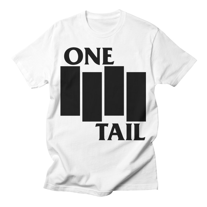 Black Flag Men's T-Shirt by One Tail At A Time