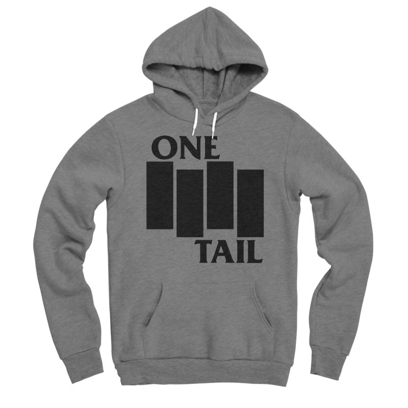 Black Flag Men's Pullover Hoody by One Tail At A Time
