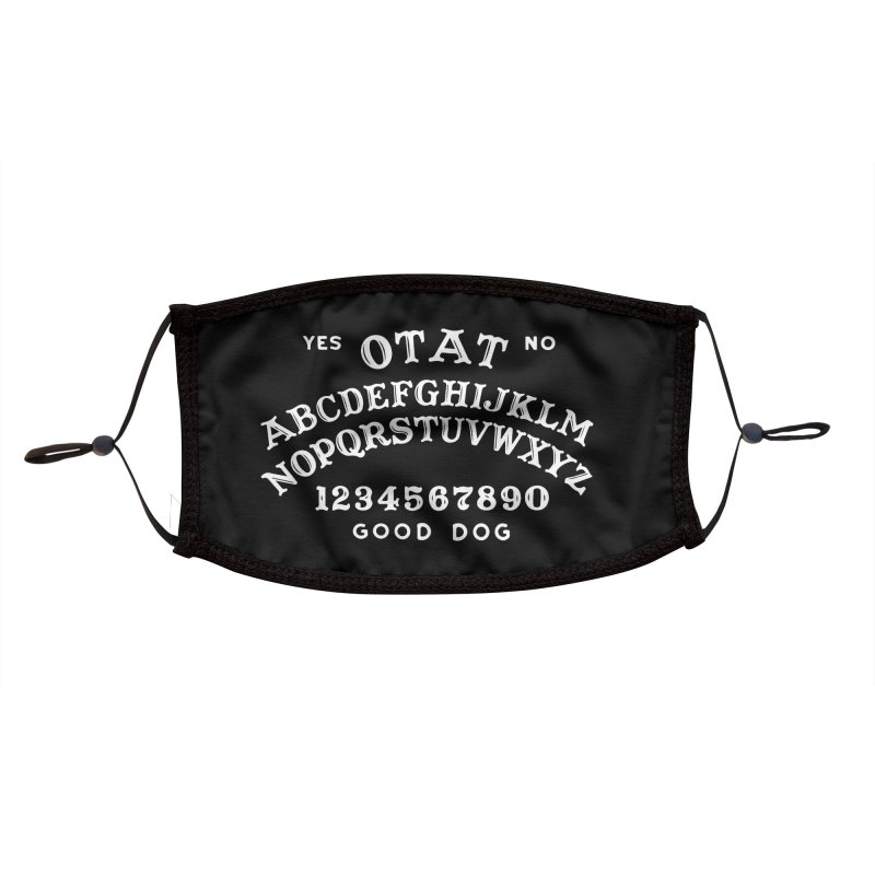 Ouija Accessories Face Mask by One Tail At A Time