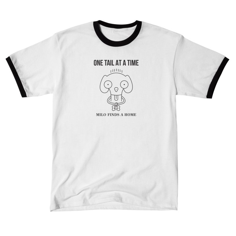 Milo Men's T-Shirt by One Tail At A Time