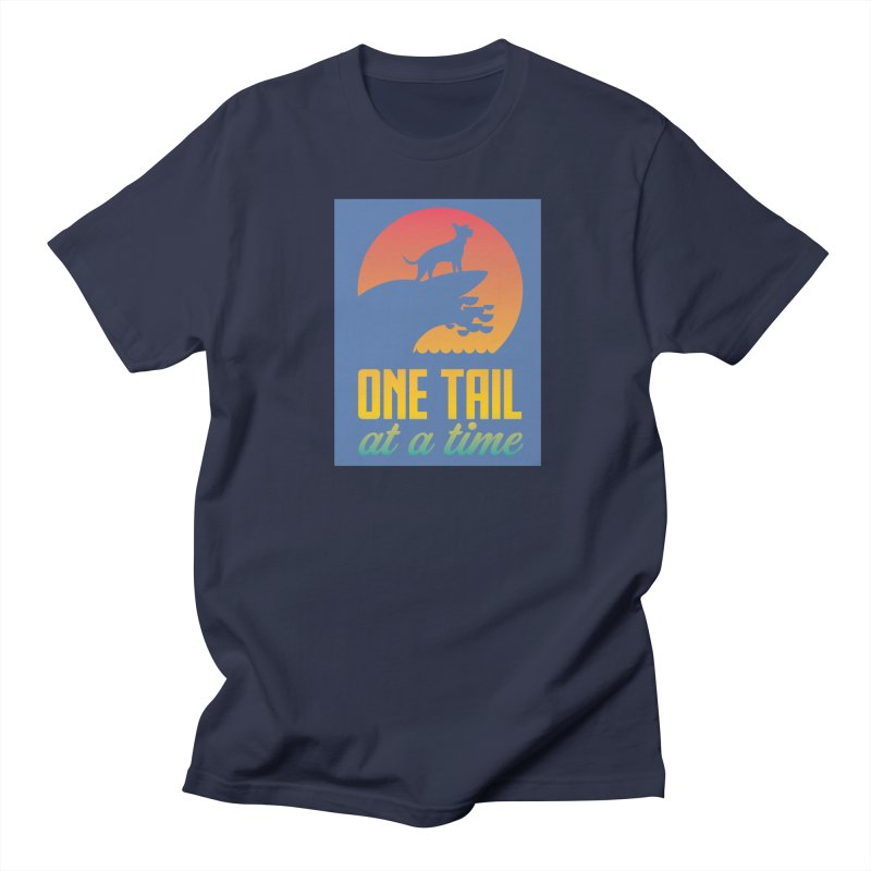 Surfboard Men's T-Shirt by One Tail At A Time