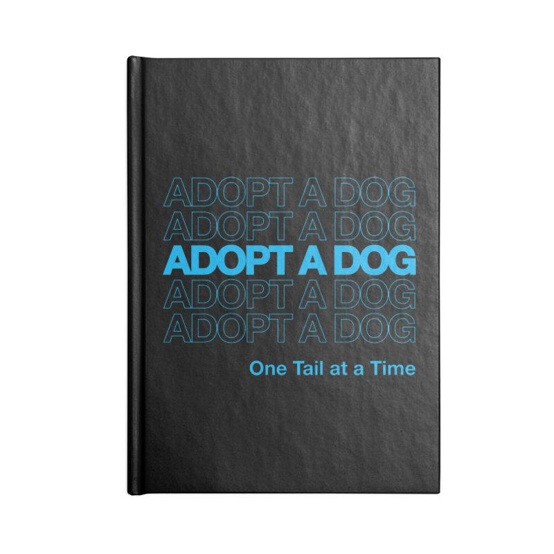 Thank you | Adopt a Dog Accessories Notebook by One Tail At A Time