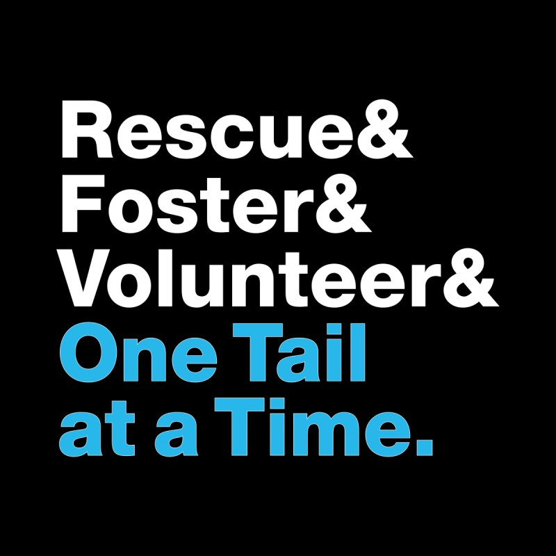 Rescue& Women's Sweatshirt by One Tail At A Time