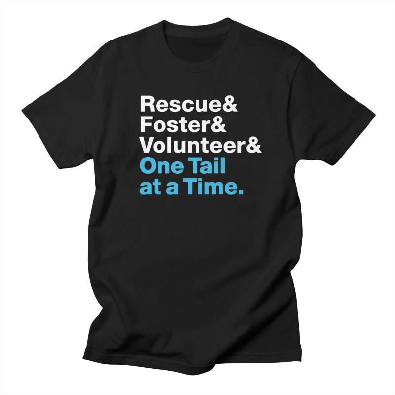 Rescue& Men's T-Shirt by One Tail At A Time
