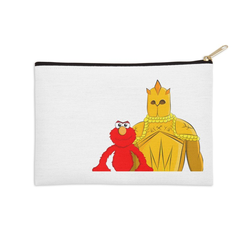 Elmo Choose Violence Accessories Zip Pouch by oneweirddude's Artist Shop