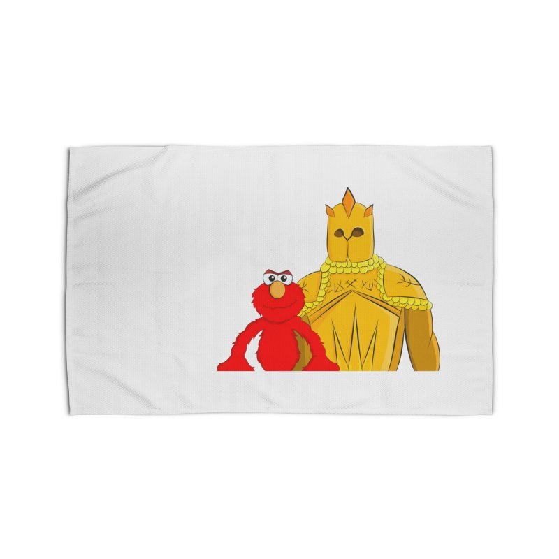 Elmo Choose Violence Home Rug by oneweirddude's Artist Shop
