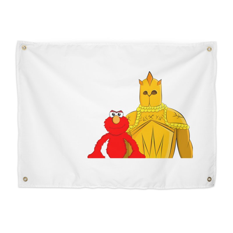 Elmo Choose Violence Home Tapestry by oneweirddude's Artist Shop