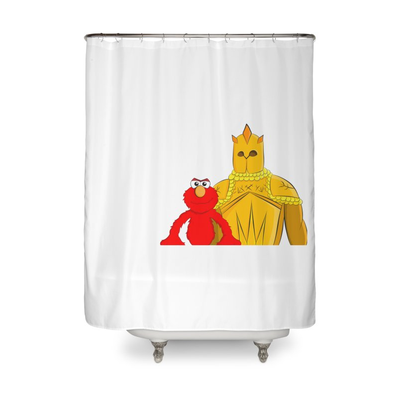 Elmo Choose Violence Home Shower Curtain by oneweirddude's Artist Shop
