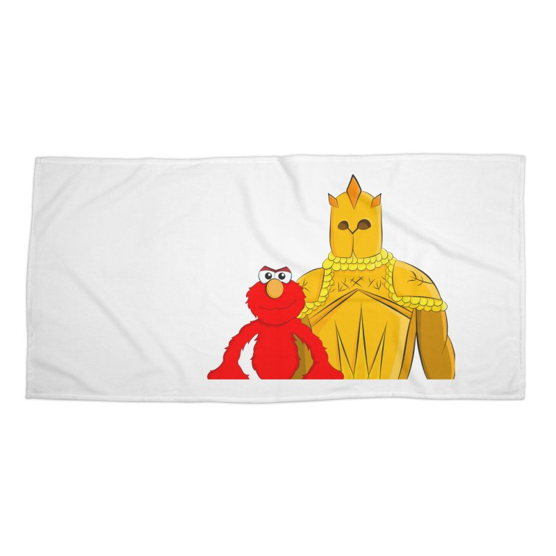 Elmo Choose Violence Accessories Beach Towel by oneweirddude's Artist Shop
