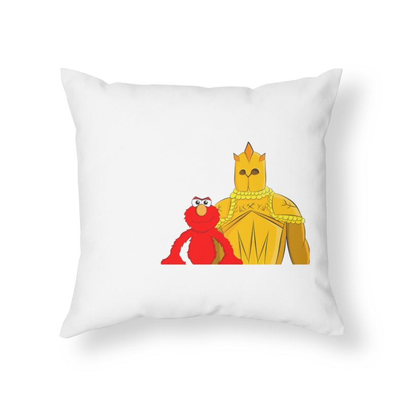 Elmo Choose Violence Home Throw Pillow by oneweirddude's Artist Shop
