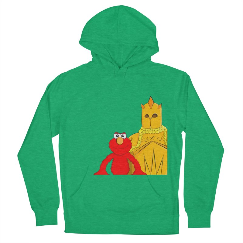 Elmo Choose Violence Men's Pullover Hoody by oneweirddude's Artist Shop
