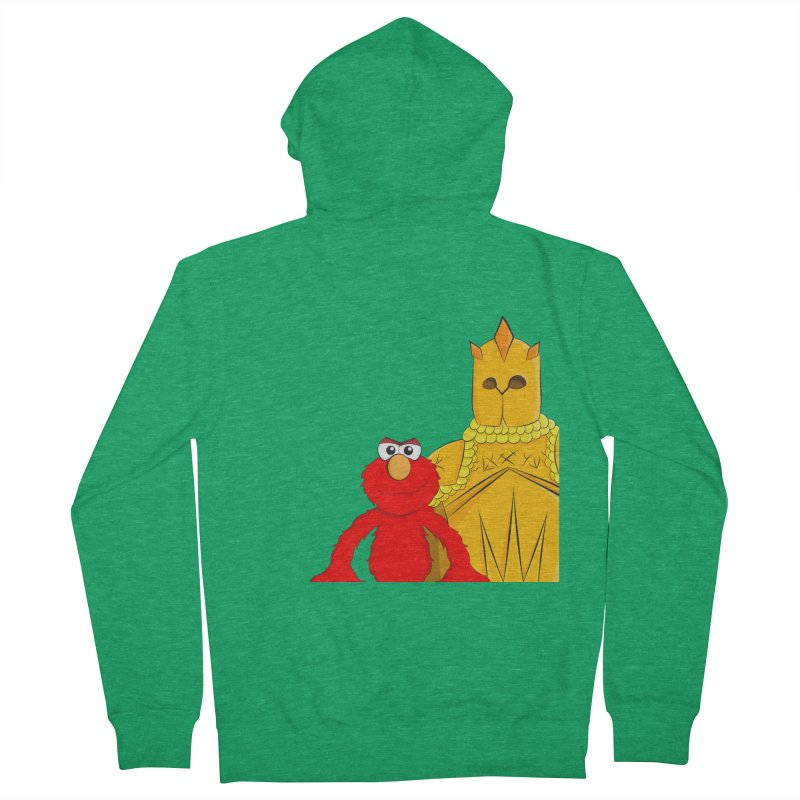 Elmo Choose Violence Women's Zip-Up Hoody by oneweirddude's Artist Shop