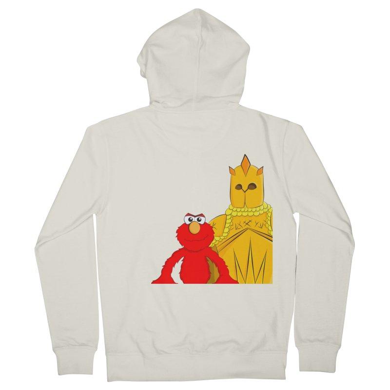 Elmo Choose Violence Women's Zip-Up Hoody by oneweirddude's Artist Shop