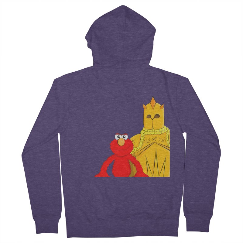 Elmo Choose Violence Men's Zip-Up Hoody by oneweirddude's Artist Shop