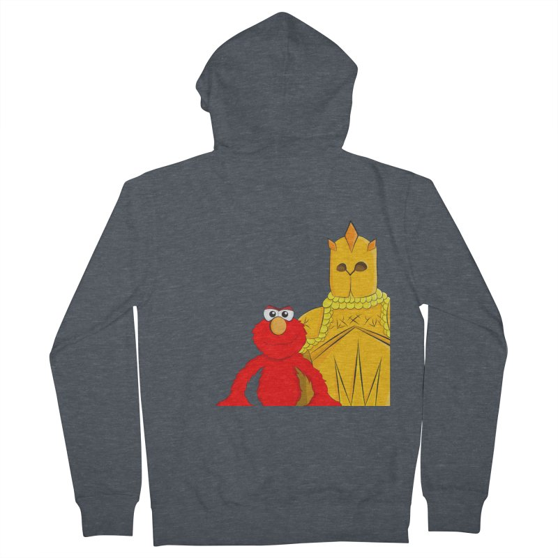 Elmo Choose Violence Men's Zip-Up Hoody by oneweirddude's Artist Shop