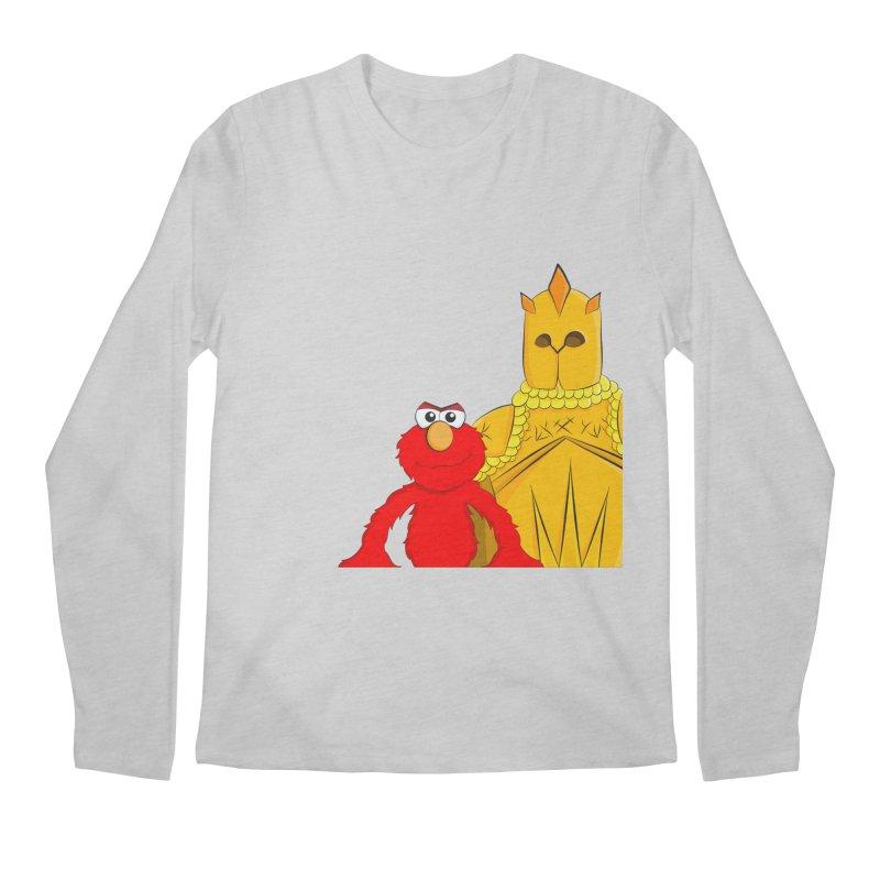 Elmo Choose Violence Men's Longsleeve T-Shirt by oneweirddude's Artist Shop