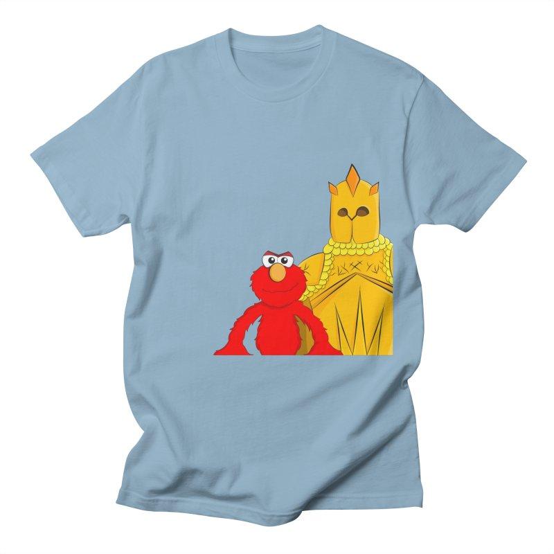 Elmo Choose Violence Men's T-shirt by oneweirddude's Artist Shop