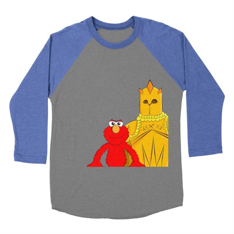 Elmo Choose Violence Women's Baseball Triblend T-Shirt by oneweirddude's Artist Shop