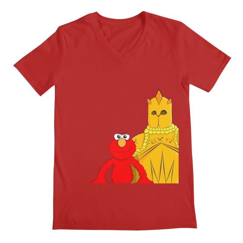 Elmo Choose Violence Men's V-Neck by oneweirddude's Artist Shop