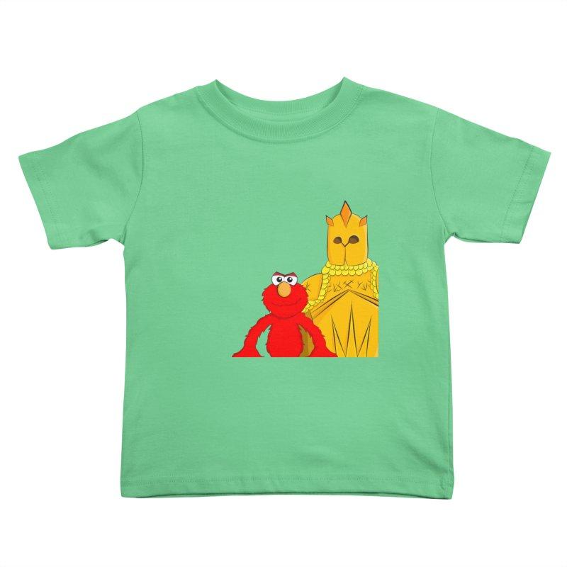 Elmo Choose Violence Kids Toddler T-Shirt by oneweirddude's Artist Shop