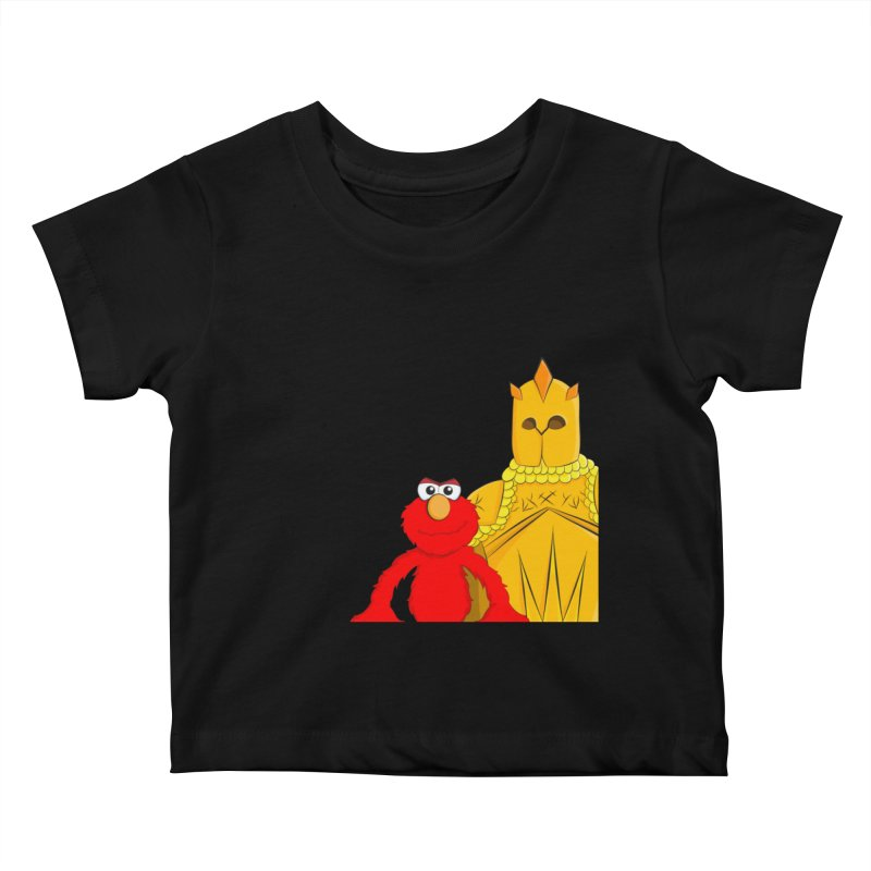 Elmo Choose Violence Kids Baby T-Shirt by oneweirddude's Artist Shop