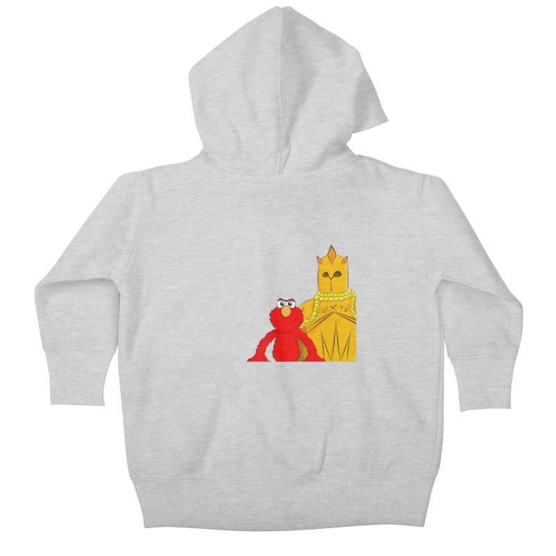 Elmo Choose Violence Kids Baby Zip-Up Hoody by oneweirddude's Artist Shop