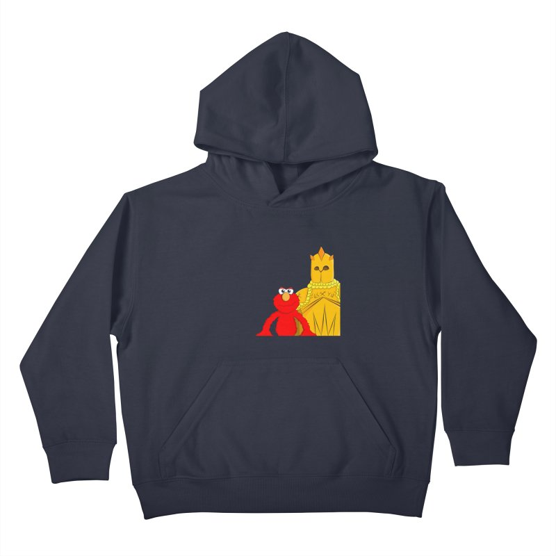 Elmo Choose Violence Kids Pullover Hoody by oneweirddude's Artist Shop