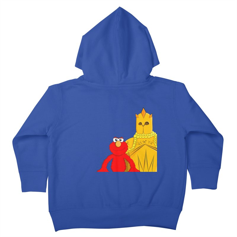Elmo Choose Violence Kids Toddler Zip-Up Hoody by oneweirddude's Artist Shop